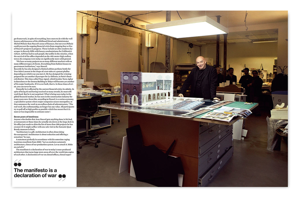 Guest Art Director For A Swedish Architecture Interiors And Design Magazine