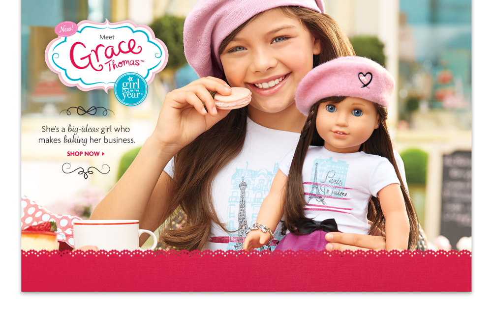 Goty 2015 american girl patterns and graphics fly for American furniture catalog 2015